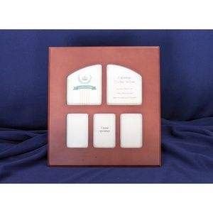 Heritage multiple picture frame